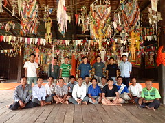Village meeting in Cambodia