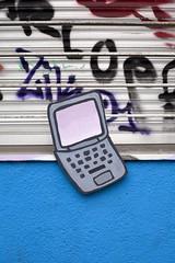 laptop (A l e _ J a n d r a) Tags: wood pieces laptop macbook handmade painting paint colors internet calle street urban urbano colores apple store graffiti objetos encontrados rosa lila gris azul all teclas 3d naif kids toys pastel barcelona raval