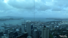P1460418 (Christen Ann Photography) Tags: 2017 auckland august2017 cityscape landscape newzealand ocean park rain sky skytower weather