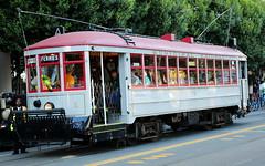 20170910 streetcar1-to-ferries (Jym Dyer) Tags: muni sanfrancisco streetcar transit
