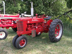 1949 Farmall type M tractor (cjp02) Tags: old fashion days festival north salem hendricks county indiana labor day weekend annual