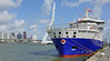 BIBBY WAVEMASTER 1 (kees torn) Tags: offshore damenscheepsbouw damenshipyard hollandamerikakade kopvanzuid cruiseterminalrotterdam nieuwewaterweg bibbywavemaster1