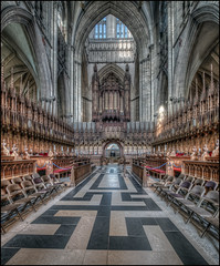 York Minster 3 (Darwinsgift) Tags: york minster hdr nikon d850 nikkor 19mm f4 pc e tilt shift tiltshift perspective control church interior
