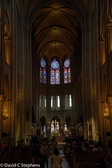 Notre Dame (dcstep) Tags: nave stainglasswindwo ledefrance france fr n7a0115dxo canon5dmkiv ef24105mmf4lisii allrightsreserved copyright2017davidcstephens dxoopticspro1142 viking vikingrivercruise