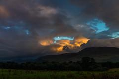 evening colors (Marlis B) Tags: irland killarney national park evening sky