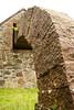 Cairnhead Byre Striding Arch (ir0ny) Tags: scotland dumfriesshire cairnhead andygoldsworthy godsworthy art landart arch sandstonearch byre
