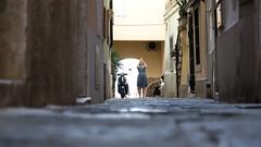 An oblation to the god of photography (The eclectic Oneironaut) Tags: 2017 6d canon eos eslovenia europa europe slovenia summer verano oblation streets calles vespa piran adriatic adriatico phone photography fotografía