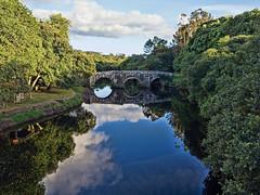Puente de Brandomil, Zas (A Coruña) (Miguelanxo57) Tags: reflejo medieval ríoxallas brandomil zas acoruña galicia nwn