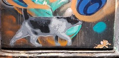 Stampz... (colourourcity) Tags: streetart streetartnow streetartaustralia graffiti melbourne burncity awesome colourourcitymelbourne colourourcity original nofilters stampz stencilart croftalley tom tomjerry cat chat
