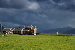 (DoctorMP) Tags: norwegia norway norge moreogromsdal altlantic ocean alesund godoya architecture houses lighthouse island