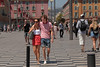 Place Masséna - Nice (France) (Meteorry) Tags: europe france provencealpescôted'azur paca alpesmaritimes nice métropolenicecôtedazur niçard nizza nissa june 2017 meteorry placemasséna avenuejeanmédecin couple candid boy girl femme homme guy male cute shorts sunglasses love amour happy smile sneakers baskets trainers skets converse allstars chucks streetscene plaza