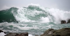 Kaikoura - wild waves (Maureen Pierre) Tags: kaikoura newzealand wild waves storm