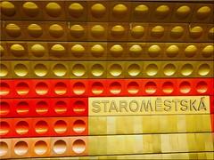 Metro station in Prague (Ostseetroll) Tags: cze geo:lat=5008697337 geo:lon=1441838476 geotagged prageraltstadt praha2novéměsto tschechien metrostation prague prag