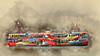 Ferry series (boeckli) Tags: schiff ship ferry water harbour hongkong fähre texture textures texturen textur sevenstyles watercolor bunt farbig colourful outdoor hafen netartii