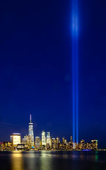 9/11 Never forget (mkc609) Tags: 911 911memorial newyorkcity nightphotography lights reflections