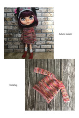 """Listing at my etsy store... """" Autumn """" sweater .."""