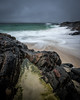 Storm over Harris (Tim Allott) Tags: andcold pouringwithrain lewisiangneiss waves landscapephotography longexposure swooshery rocks beach storm sea coast isleofharris outerhebrides scotland pentaxk3