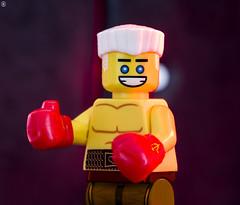 Ivan Drago Rocky IV (Jezbags) Tags: lego legos toy toys minifigure minifigures macro macrophotography macrodreams macrolego canon60d canon 60d 100mm closeup upclose ivan drago rocky iv boxer russian ussr