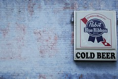 Pabst Blue Ribbon (shock264) Tags: pbr pabstblueribbon pabst blue ribbon beer coldbeer cold wall wallart canvas canvasart art travel alcohol drink drinking beverage vintage classic brew homebrew midwest tourism tourist building side sign signage writing ad usa us internet global earth world paint lead leadpaint local rural