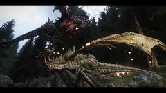 Alduin vs Paarthurnax (craigybaby0305) Tags: