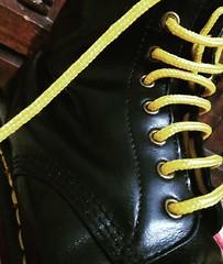 DMs Close up (collaredinboots1) Tags: dms docs docmartens laces boots