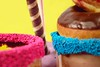 Y o u & M e & T h a t L i t t l e S p y -explore- (CiaoMayonga) Tags: experimental food love red green dream magic mayonga sweet candy explore nationalcreamfilleddonutday nikon nikond5300 icecream donut chocolate purple pink magenta tangerine orange