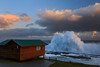 Nature rules! (Luc Stadnik) Tags: wave crashingwave nature power cottage gardenroute tsitsikamma stormsriver southafrica sunset