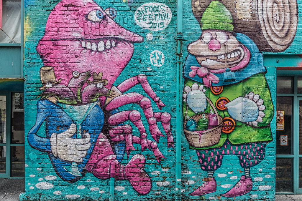 EXAMPLES OF URBAN CULTURE IN BELFAST [STREET ART AND GRAFFITI]-132932