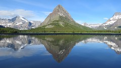 Grinnell Point Reflection (Explored) (claypeoples) Tags: grinnellpoint mountgould mountwilber glaciernationalpark glacier nationalpark montana rockies water pond reflection pool mountain mountains landscape scenery snow