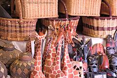 market (MiChaH) Tags: southafrica sa stlucia coast kust 2017 vakantie holiday zuidafrika market markt houtsnijwerk woodcraft giraffes riet manden baskets