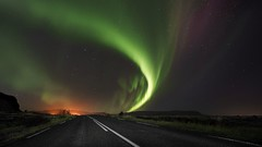 Iceland (photosweden) Tags: sweden iceland aurora northernlight travel night sky street longexposure colorful sony zeiss nature landscape love