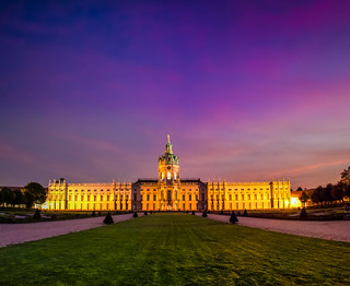 Robert Emmerich - 95 NLE Long exposure sunset at the Charlottenburg Palace Berlin - Germany