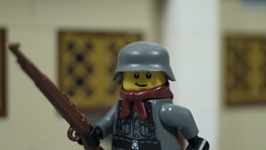 Lego WWII: S. Kurt ''Klaus'' Amsel (Force Movies Productions) Tags: war wwii weapons wehrmacht wars world lego helmet gear helmets second rifles rifle toys toy trooper troops troopers troop troopps youtube un custom guns gun ii minfig picture military minifig minifigs minifigure film firearms history og soldier conflict pose movie cool moc soldiers photo photograpgh photoshop photograph army animation stopmotion scene scenes fiction frame hats legophotograghy brickarms brickizimo brickmania brickfilm bricks brick nazi minfigco german germany