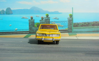 Dinky Toys Renault R16 No.166 1967 : Diorama PS2 GT4 Computer Game Backdrop Costa di Amalfi - 30 Of 31