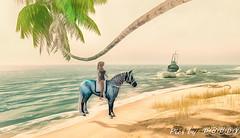 Popcorn's Adventures in SL (Poppys_Second_Life) Tags: bento waterhorse2lfantasypics by ⓟⓞⓟⓟⓨpopipopis adventures 2lpopikonepopikones 2lpoppyslsecond lifesecondlifeunicornvirtual photography waterhorse baja bajanorte beach