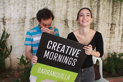 #CMigualdad #CMequality / Julio 2017 (barranquillacreativemornings) Tags: creativemornings creativepeople barranquilla cmbaq cmigualdad cmequality educacion education stefanie tschampel adiuvo talk