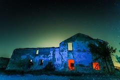 Bañuelos farmhouse (3) (jesbert) Tags: sony a7rm2 irix 15mm milky way via lactea noche cielo