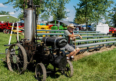 2017 Mason Tractor -47 (Michael L Coyer) Tags: masontractorshow tractorshow steam engine threshers clubmichigan club michigansteamenginethreshersclub michigansteamengineandthreshersclub steamengine tractor farm farmer farming field agriculture plowing husbandry antique