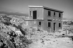 Zubovići, Pag Island, Croatia. (wojszyca) Tags: contax g2 zeiss planar 45mm adox cms 20 adotech house zubovici pag island croatia 2015