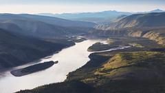 Gold on the Yukon River (andrewpmorse) Tags: yukon dawsoncity gold sunset river yukonriver midnightdome canada landscape canon 5div leefilters leelandscapepolarizer lee06ndgrad fall island north viewpoint