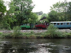 Double Header At Dolrhyd Mill (Tanllan) Tags: wllr welshpool llanfair light railway wales heritage tourist railroad steam train joan superb kerr stuart bagnall 062t dolrhyd mill