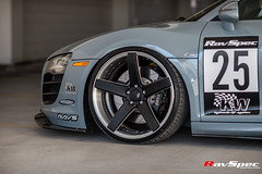 "RAYS Blackfleet V205C - Audi R8 - Artisan Spirits Japan Kit - SEMA 2016 • <a style=""font-size:0.8em;"" href=""http://www.flickr.com/photos/64399356@N08/36329306456/"" target=""_blank"">View on Flickr</a>"