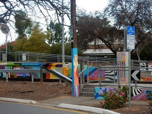Colourful Railway Station