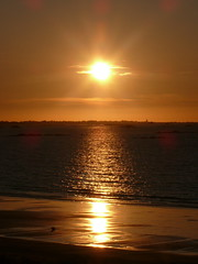 17 09 01 Plage Porsmeur Plouescat Sunset  (1) (pghcork) Tags: france bretagne brittany sunshine sunset sea beach waves finistere plouescat plage porsmeur plagedeporsmeur porsguen harbour boats