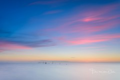 Subtle colors (Ellen van den Doel) Tags: natuur netherlands sunset rockanje nature long nederland outdoor evening zee sea summer beach blue outside strand juni pink exposure color zonsondergang le landschap 2017 landscape zuidholland nl