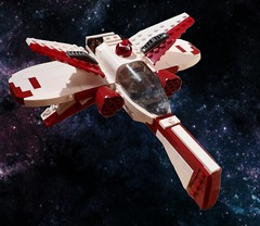 ARC-160 Starfighter (Fithboy) Tags: lego star wars arc 170 160 arc170 arc160 aggressive reconnaissance starfighter fighter ship space clone revenge sith