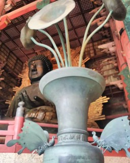 Gran Buda de Todaiji.  #japon #japan #japon2017 #viajeajapon #viviendoexperiencias #kansai #nara #todaiji #granbuda #日本 #日本旅 #関西 # 奈良 #東大寺 #大仏殿
