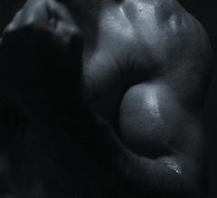 BIG BULGING BICEPS (flex130) Tags: muscular muscles muscularart muscleart measuringbiceps muscle 18inch gunshow flexing blackandwhite guns biceps bicep bicepart abs traps delts schredded weight weightlifter body bodybuilder bodybuilding huge big massive exercise workout workouts flex chest pecs jacked bizeps lats art ripped