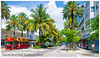 Lincoln-road-mall (fadelemad324) Tags: miami southbeach colors red palm street d7000 dslr digital nikon nature nik nikond7000 photography photographie summer