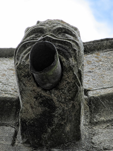 Gargoyle close-up